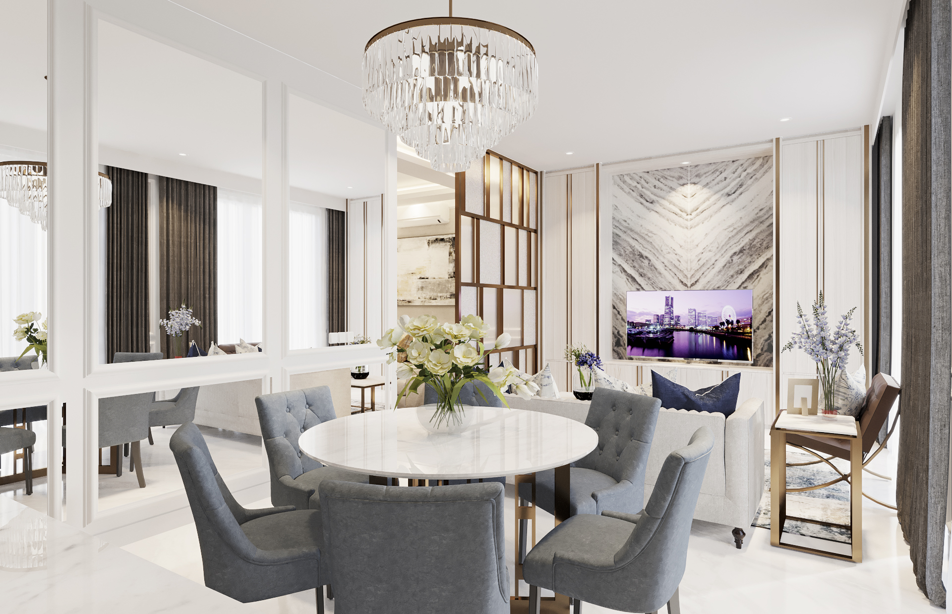 AM House - Dining Room (Look 1)