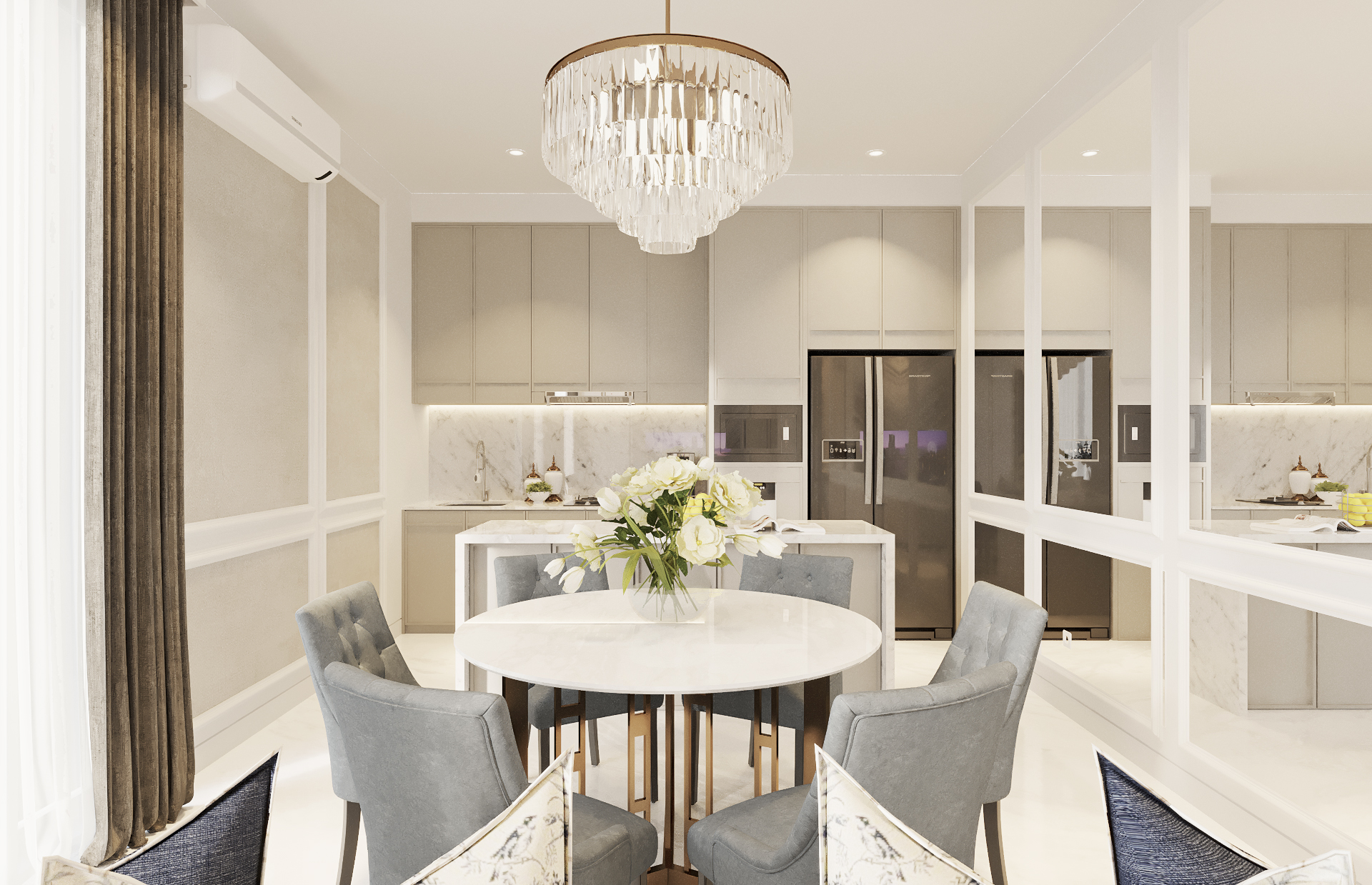 AM House - Dining Room (Look 2)