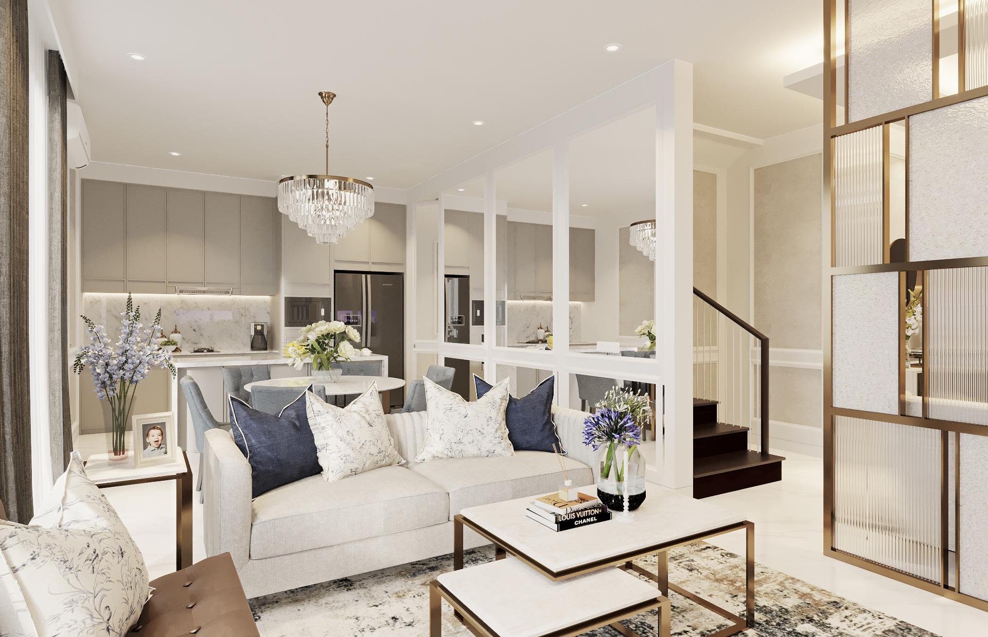 AM House - Living Room