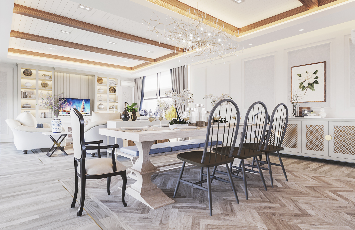 S House - Dining Room (Look 2)