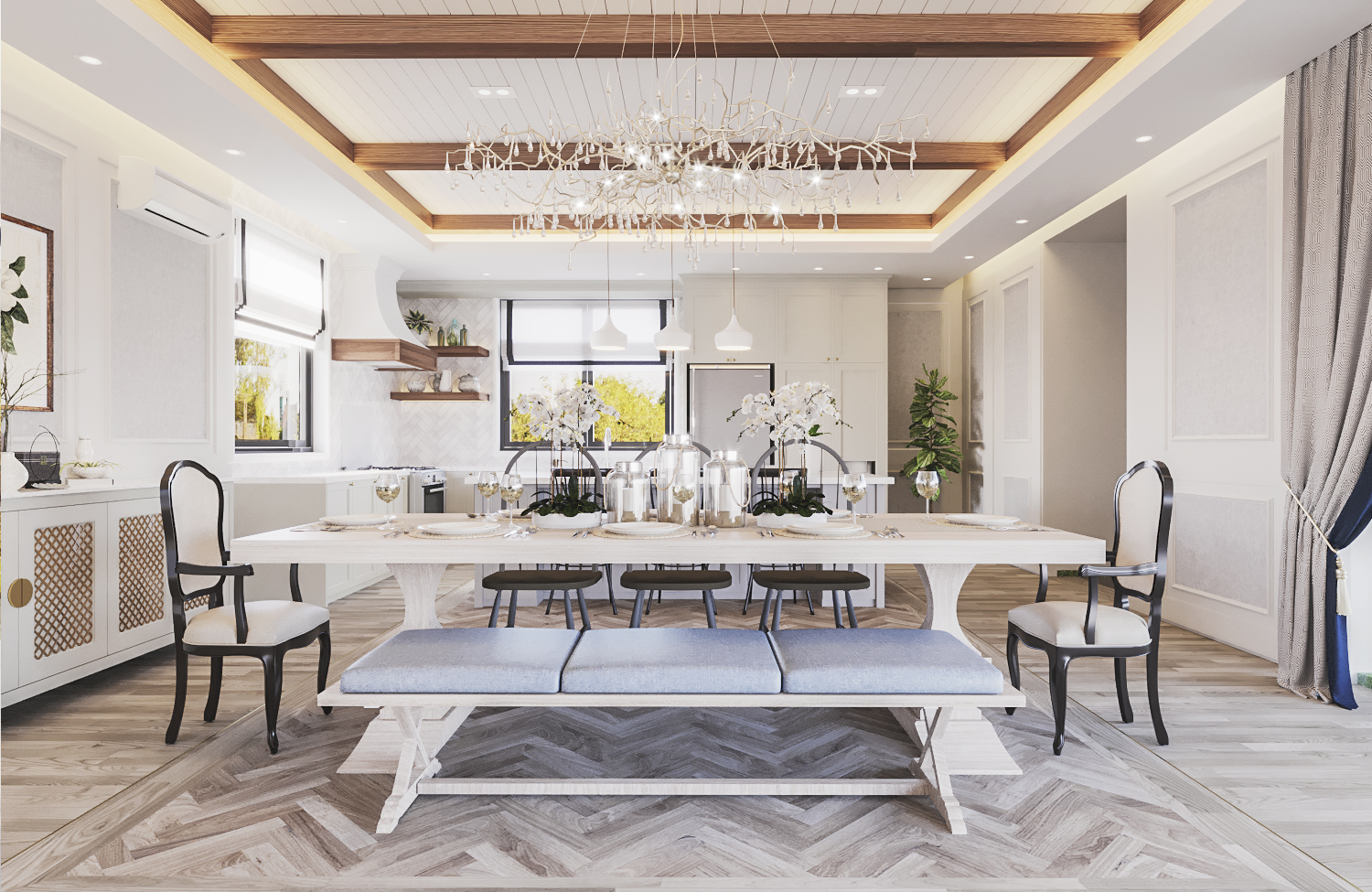 S House - Dining Room (Look 1)