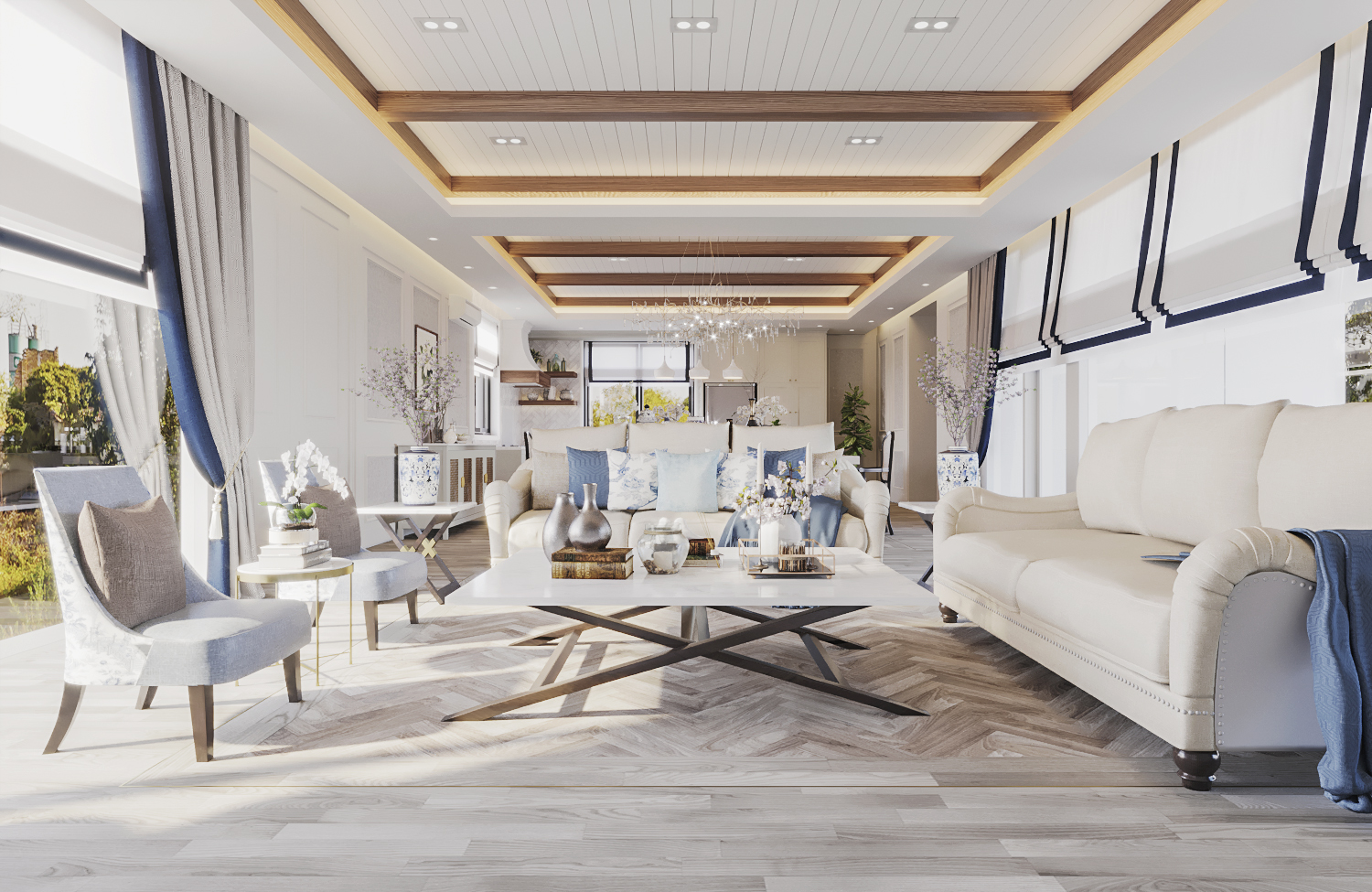 S House - Living Room (Look 1)