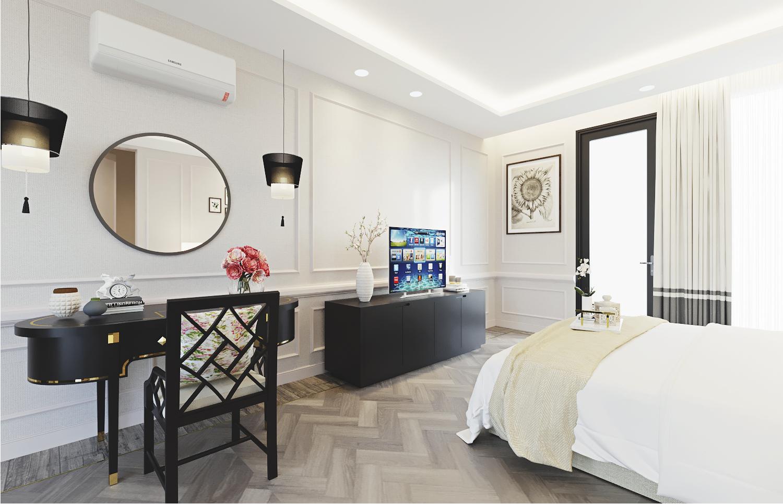 S House - Master Bedroom 1st Floor (Look 2)
