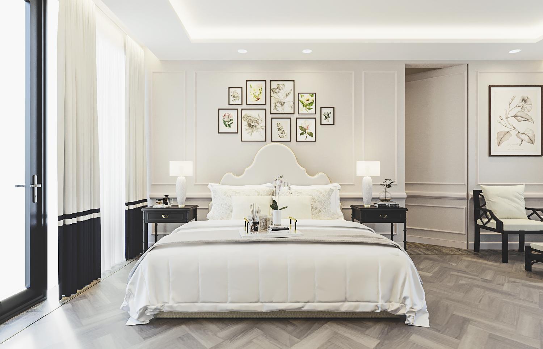 S House - Master Bedroom 1st Floor (Look 1)