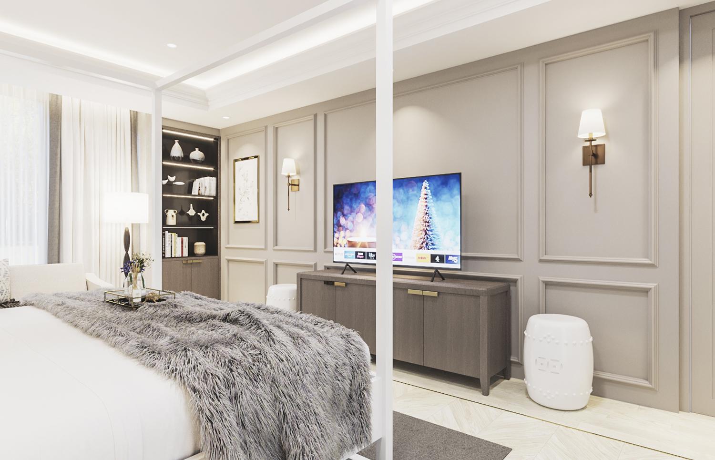 S House - Master Bedroom 2nd Floor (Look 3)