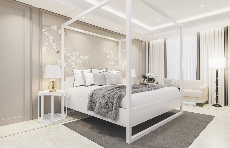 S House - Master Bedroom 2nd Floor (Look 1)