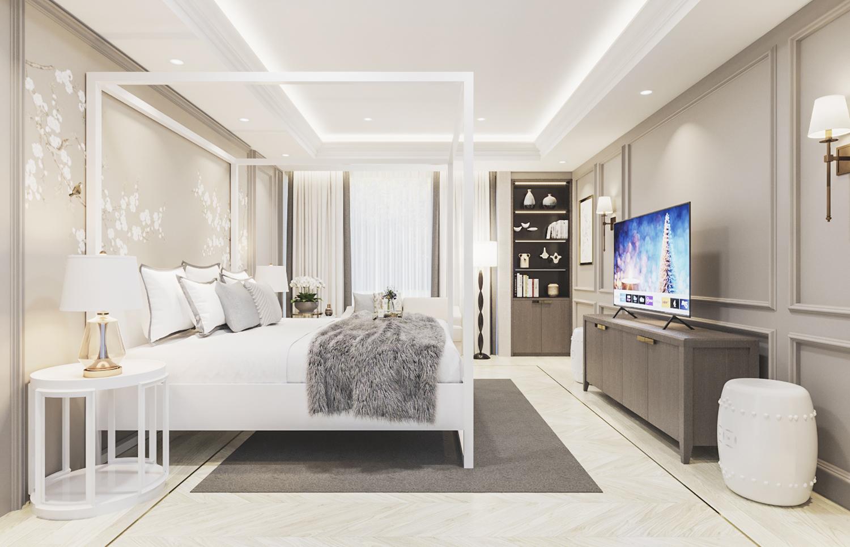 S House - Master Bedroom 2nd Floor (Look 2)